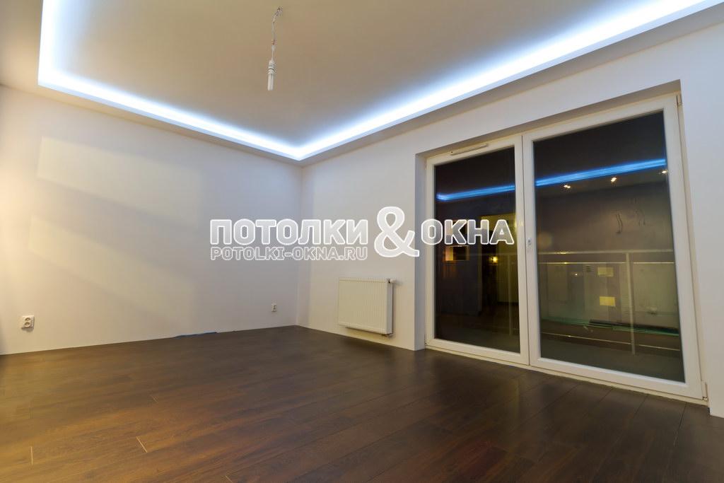 Подсветка в гипсокартонном потолке