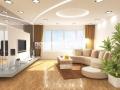 Фигурный тканевый потолок