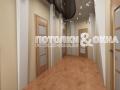 Потолок в коридоре тоже может быть роскошным