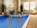 Глянцевый ПВХ потолок в бассейне