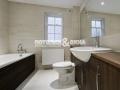 Классический потолок в ванной