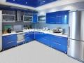 Натяжной потолок под цвет кухонного гарнитура